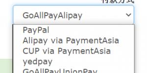 Megalayer支付方式