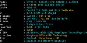 Megalayer香港CN2服务器评测